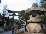 The entrance to Tomioka Hachiman-gu Shrine