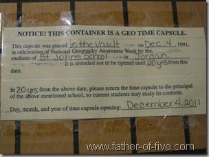 Time Capsule Seal