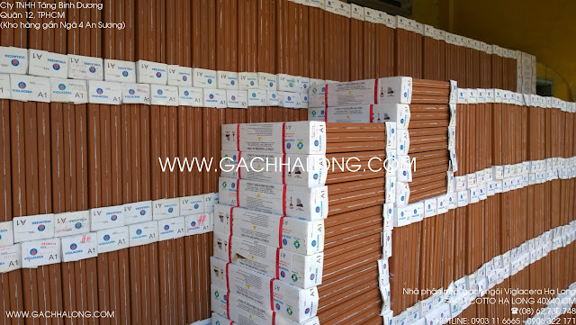 Lô hàng gạch cotto 40x40 Viglacera Hạ Long