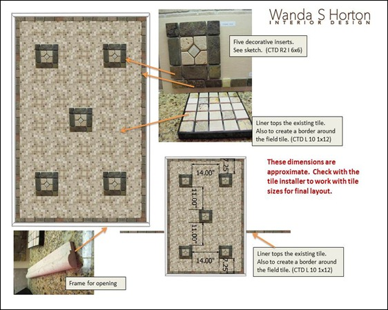 Lake Oconee Tile Specs