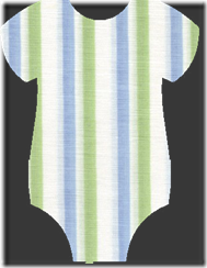 onesie stripete heins dåp uten tekst