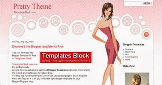 Pretty Theme Blogger Teması