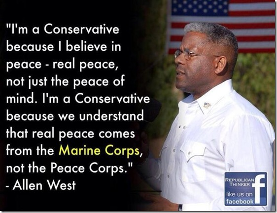 Allen West... I Am A Conservative