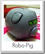 robot piggy bank