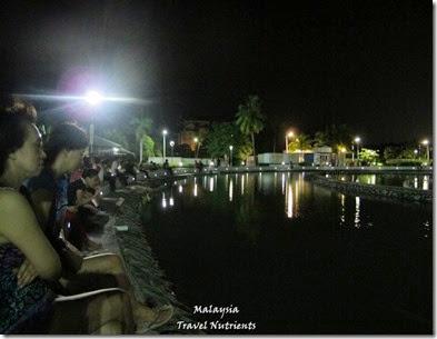 沙巴亞庇丹容亞路海灘夕陽 Perdana Park音樂水舞 (27)