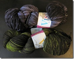 Desert Vista Dyeworks - Shadow Colorway