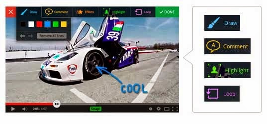 рисуем на видео - расширение videosnap