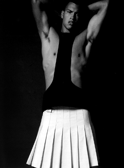 Chris Moore by Milan Vukmirovic, Fashion for Men, Issue One, 2011