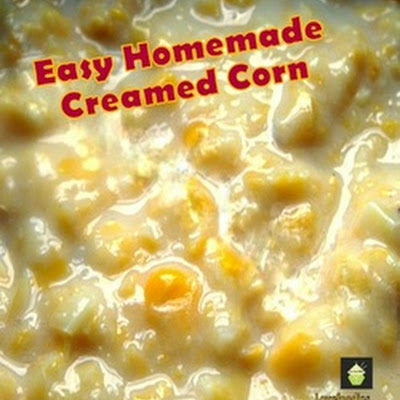Easy Homemade Creamed Corn