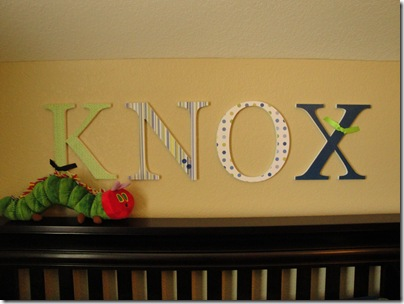 4.  Knox's letters
