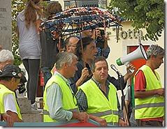 oclarinet. Marcha Contra o Desemprego 7. Out 2012