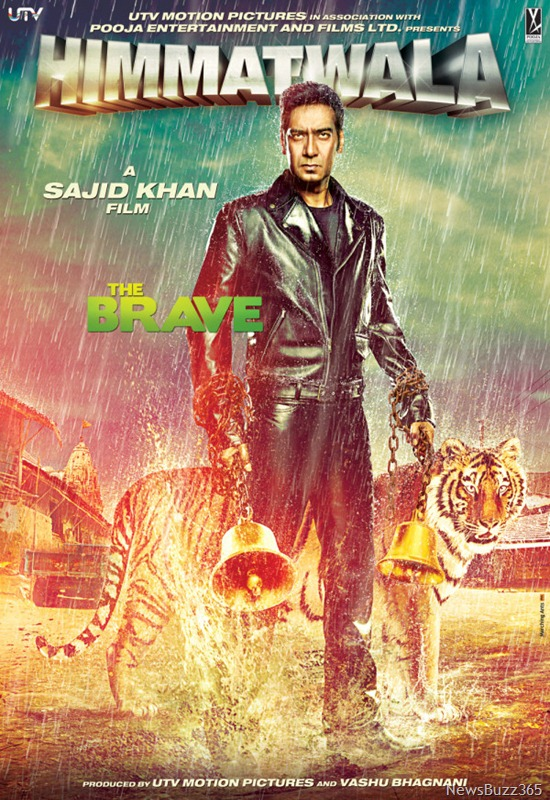 Watch Online Movie Himmatwala 2013 | Ajay Devgan Himmatwala Remake First Look & Posters