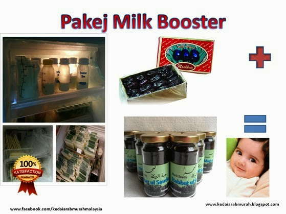 Pakej Milk Booster