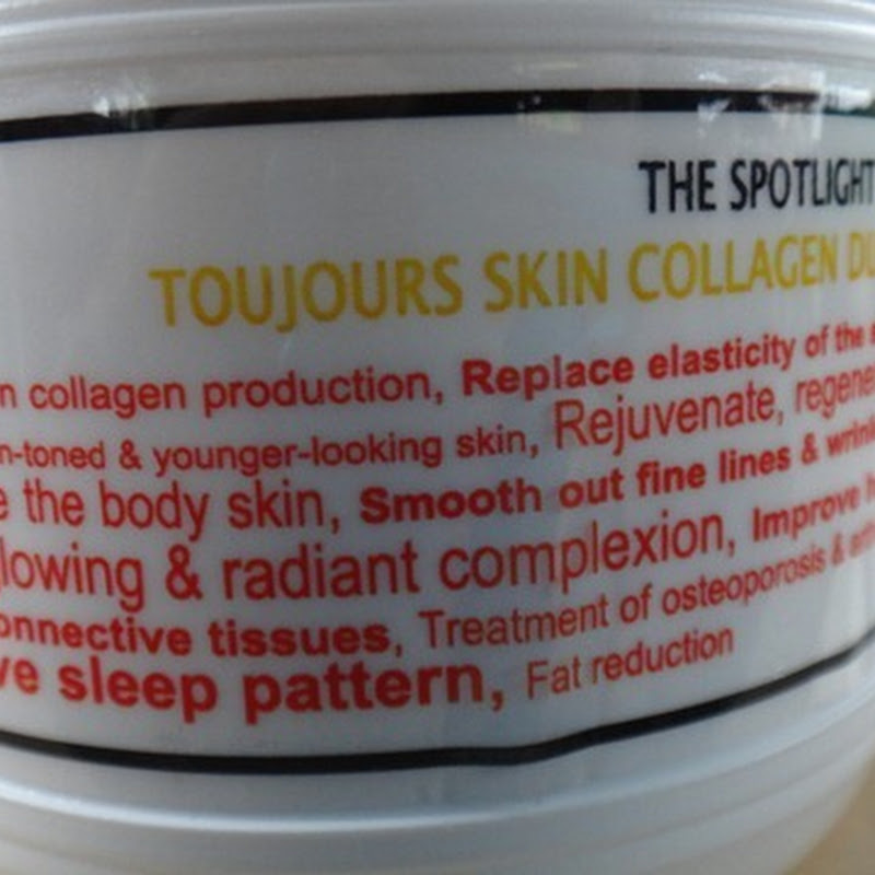 BOTD–Toujours Skin Collagen Dust