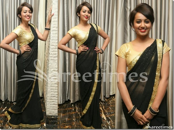 Vithika_Seru_Black_Saree