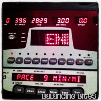 Three Mile Treadmill Run