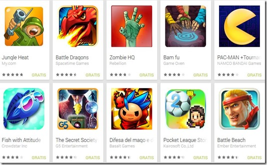 Ma chi le fa le icone dei giochi android