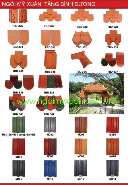 Catalogue Ngói Mỹ Xuân