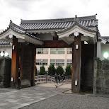 ancient gate in shizoka in Shizuoka, Sizuoka (Shizuoka) , Japan