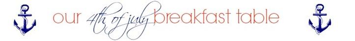 breakfasttable