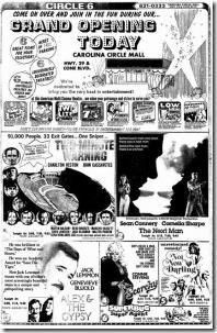 Circle Six Grand Opening November 1976