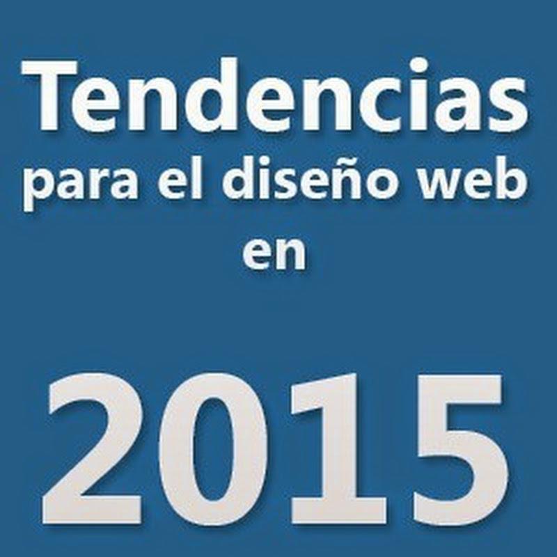 Las 10 tendencias para el diseño web en 2015