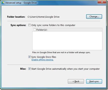 เริ่มต้นใช้งาน google drive