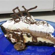 Coffee Liqueur Ice Cream Pie