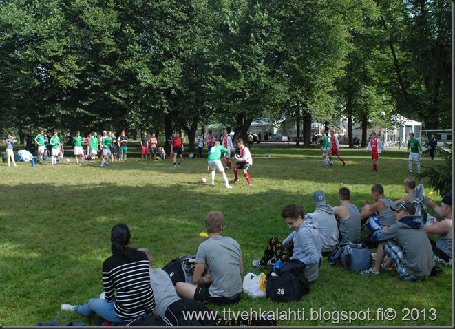 kirjurinluoto puisto potkupallo Marko ja heli maalareina 054