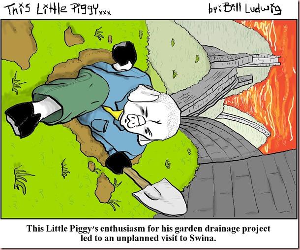 Piggy China dig