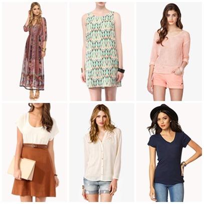 f21 shopping list 1, bitsandtreats