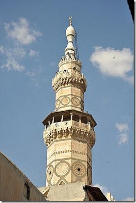 minaret damascus