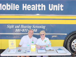 Clarksburg Days Vision Screening