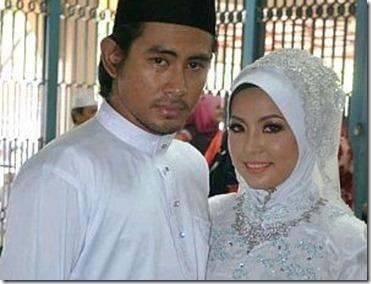 Gambar perkahwinan pelakon Razali Hussain dan Nik Nor Azlina 3