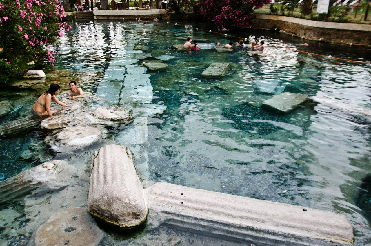 Pamukkale Pool of Aphrodite