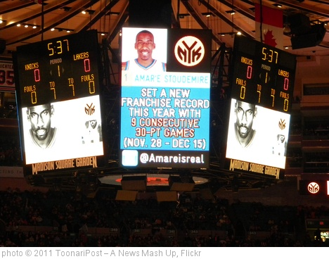 'Amare Stoudemire' photo (c) 2011, ToonariPost â?? A News Mash Up - license: http://creativecommons.org/licenses/by-sa/2.0/
