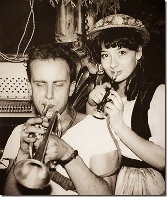 Boris Vian e Juliette Greco