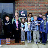 WBFJ Station Tour - St. John's Lutheran School - Miss Guelzow's 3rd Grade Class - 2-21-12