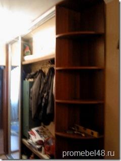 как сделать шкаф купе из старой кладовки
