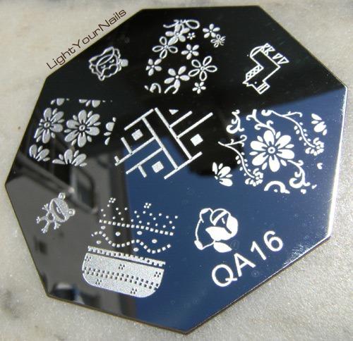 Stamping plate QA16 @BornPrettyStore