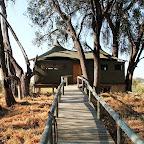 Little Vumbura, Zeltchalet © Foto: Ulrike Pârvu   Outback Africa Erlebnisreisen