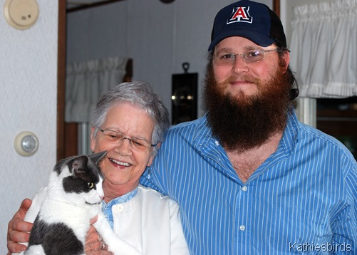 5. son and grammy and cat-kab