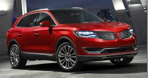 Lincoln mostra nova geração do MKX