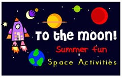 Constellations Preschool Space Theme