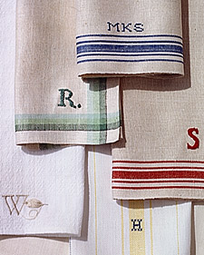 By now, you all must know my love for monogramming: http://www.marthastewart.com/article/monogrammed-napkins