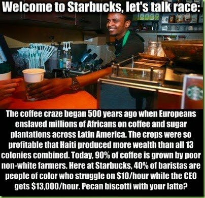 starbucks race relations