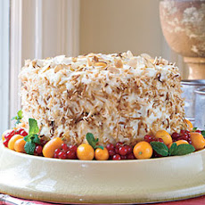 Coconut-Almond Cream Cake