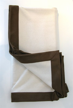 Ivory Cashmere Throw (piecesinc.com)