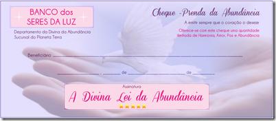 CHEQUE PRENDA DA ABUNDANCIA by LucySemFronteiras