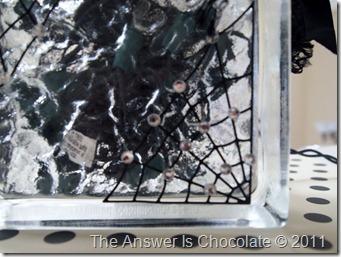 Spider Web Block Closeup